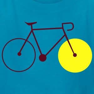 bike fahrrad fixie bike Kids' Shirts - Kids' T-Shirt