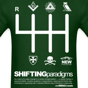 SHIFTING Paradigms - Men's T-Shirt
