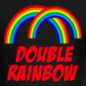 Double Rainbow T-Shirts - Men's Ringer T-Shirt