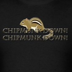 Chipmunk Down! T-Shirts