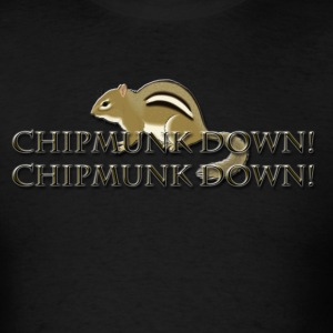 Chipmunk Down! T-Shirts - Men's T-Shirt