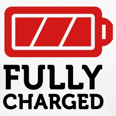 Fully Charged (2c) Long Sleeve Shirts
