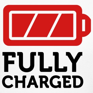 Fully Charged (2c) Long Sleeve Shirts - Women's Long Sleeve Jersey T-Shirt