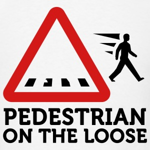 Pedestrian On The Loose (3c) T-Shirts - Men's T-Shirt