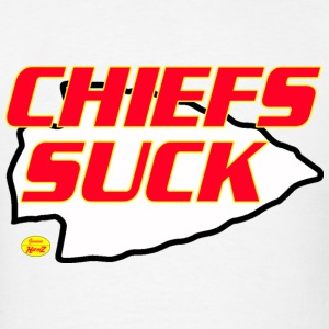 chiefs suck kc T-Shirts - Men's T-Shirt