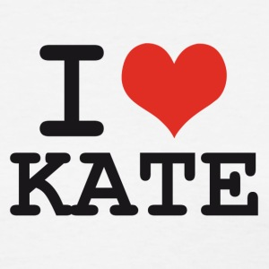I love Kate Women's T-Shirts - Women's T-Shirt