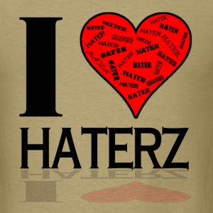 Men's I Love Haterz Standard Weight T-Shirt - Men's T-Shirt