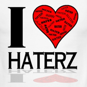 I Love Haterz T-Shirts - Men's Ringer T-Shirt