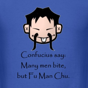 fu_man_chu T-Shirts - Men's T-Shirt
