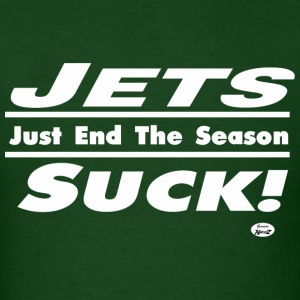 jets suck T-Shirts - Men's T-Shirt