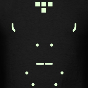 Tron (w/ disc) - Men's T-Shirt
