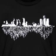 Design ~ Detroit Skyline With Roots Children's T-Shirt