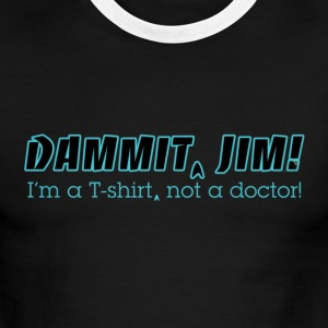 Dammit Jim Redux - Men's Ringer T-Shirt