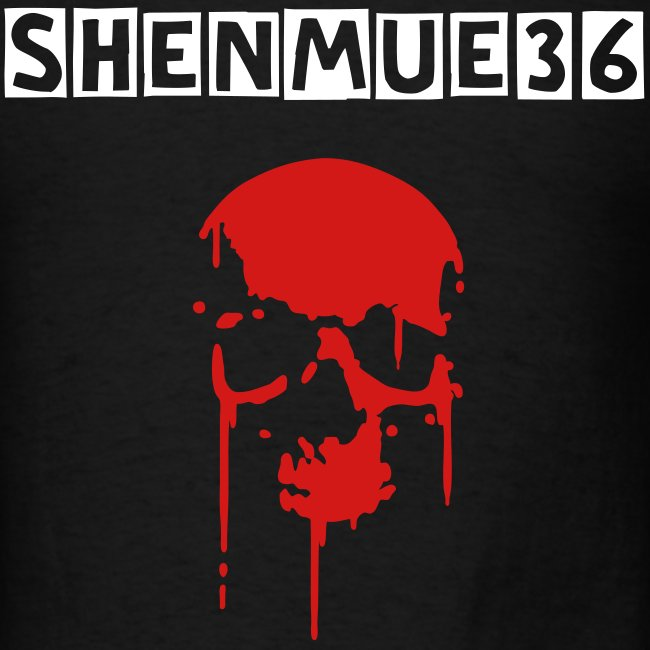 SHENMUE36 Blood Skull Tee