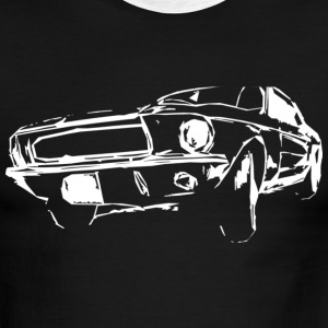 classic US car T-Shirts - Men's Ringer T-Shirt