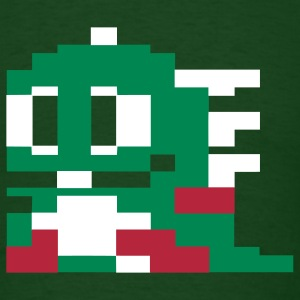 Bubble Bobble Mens TShirt Green - Men's T-Shirt