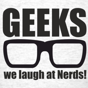 Geeks - Men's T-Shirt