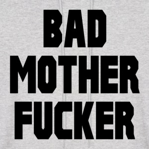 Pulp Fiction Bad Mother Fucker Hoodies - Men's Hoodie