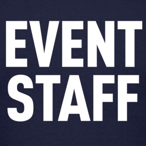 Event Staff Navy Shirt - Men's T-Shirt