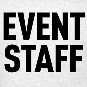 Event Staff Gray Shirt - Men's T-Shirt