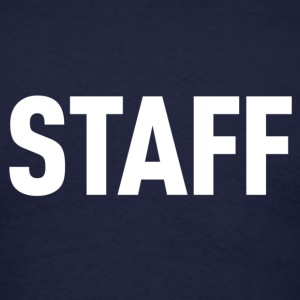 Staff Navy Shirt - Men's T-Shirt