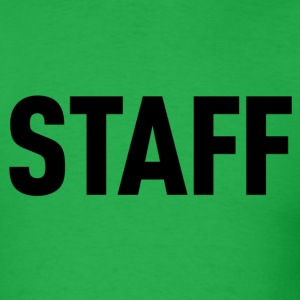 Staff Green Shirt - Men's T-Shirt