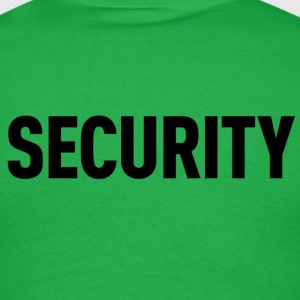Security Green Shirt - Men's T-Shirt