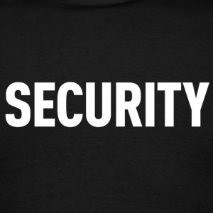 Security Black Shirt - Men's T-Shirt