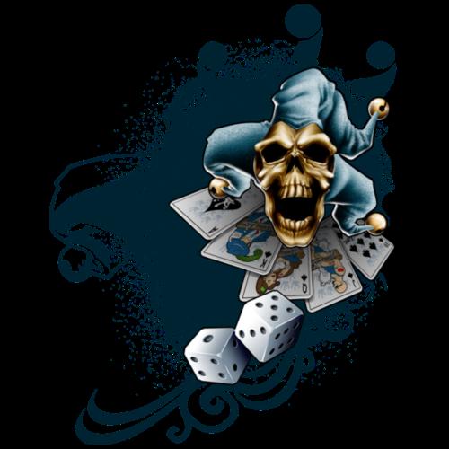 Jester Skull by RollinLow