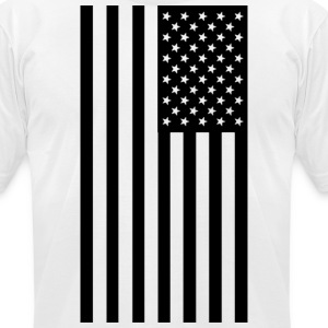 American Flag - Men's T-Shirt by American Apparel