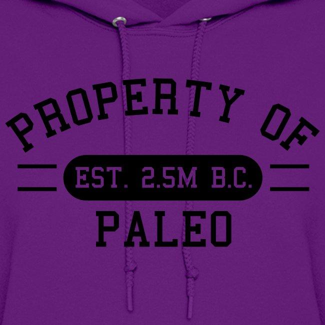 Property of Paleo Hoodie