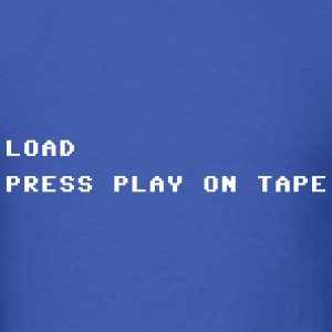 Press Play on Tape Tshirt - Men's T-Shirt