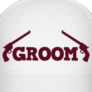 groom shotgun 9 irons Caps - Baseball Cap