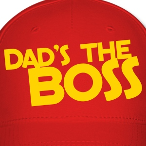 dad's the BOSS Caps - Baseball Cap