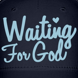 waiting for god Caps - Baseball Cap