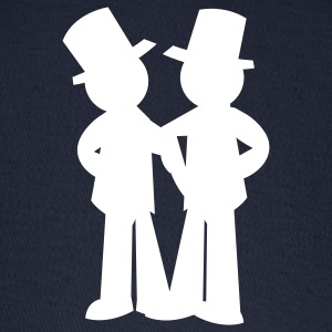 two grooms gay wedding Caps - Baseball Cap