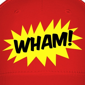 wham! with starburst comic hero Caps - Baseball Cap