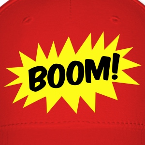 boom! on a star Caps - Baseball Cap