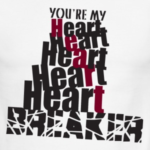 Heart Breaker - Men's Ringer T-Shirt