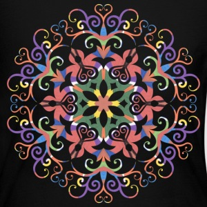 A colorful filigree Kaleidoscope - Women's Long Sleeve Jersey T-Shirt