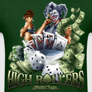 High Roller by RollinLow T-Shirts - Men's T-Shirt