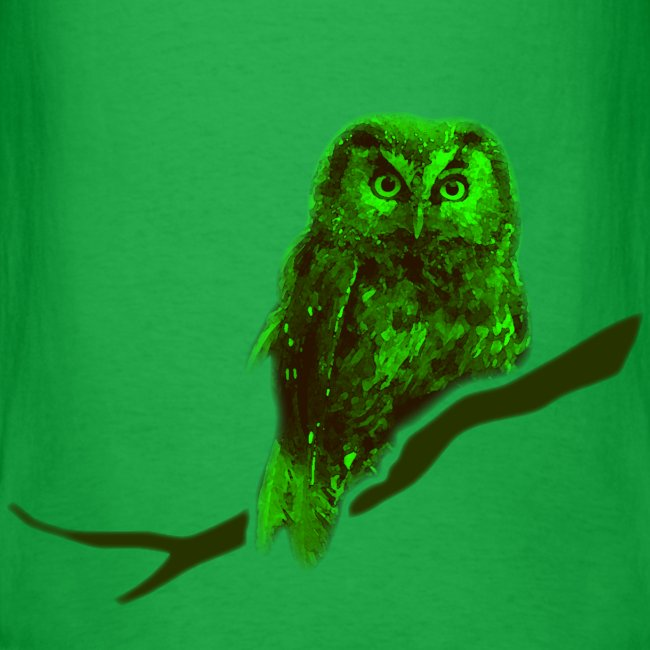 shirt owl owlet bird night wings feather nature forest hunter hunting