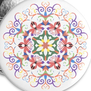 A colorful filigree Kaleidoscope - Small Buttons