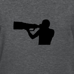Photographer with BIG lens - Women's T-Shirt