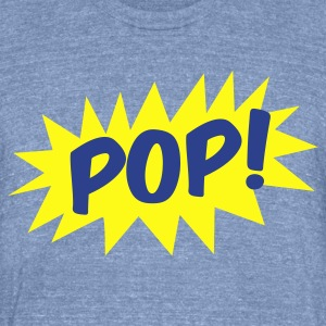 pop! on a star comic T-Shirts - Unisex Tri-Blend T-Shirt by American Apparel