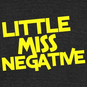 little miss negative T-Shirts - Unisex Tri-Blend T-Shirt by American Apparel