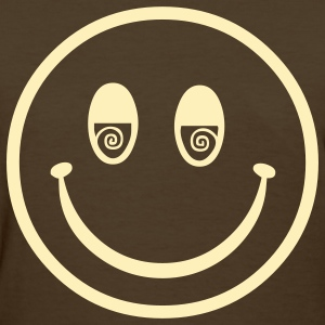 seventies hippie smiley Women's T-Shirts - Women's T-Shirt
