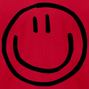 cute smiley kids T-Shirts - Men's T-Shirt by American Apparel