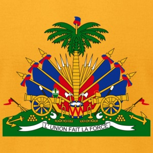 Crest Haiti (dd) T-Shirts - Men's T-Shirt by American Apparel