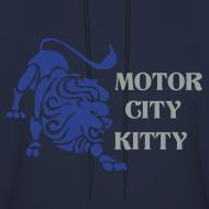 Design ~ Motor City Kitty Men's Hooded Sweatshirt